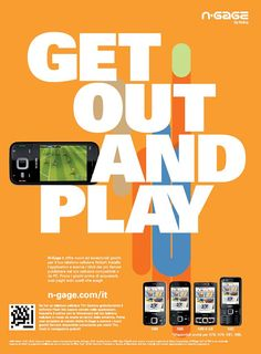 Mobile Phone Advertising This Image Uses The Method Of Transformation Which It Changes Our Demand For A Game