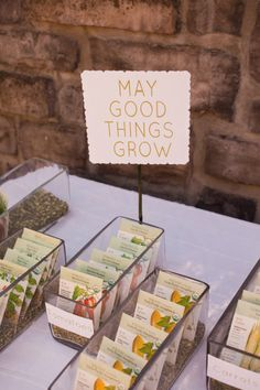 #favors Photography by jessamynharris.com Styling & Design by aliciakdesigns.com Read more - http://www.stylemepretty.com/2013/05/17/a-modern-take-on-farm-to-table-from-jessamyn-harris-alicia-k/
