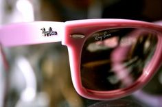 pink raybans