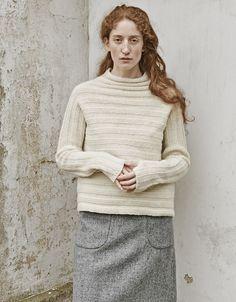 nygårdsanna Long Face Shapes, Long Faces, Vintage Photos, Knit Crochet, Knitwear, My Style, Country Style, Turtle Neck, Autumn