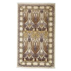 Morris Collection Oriental Rug, 3' x 5'2