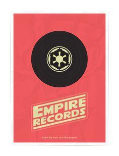 star wars mash-up :: empire records