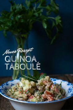 Super lecker und dazu noch gesund - Quinoa Salat mit Tomate und Gurke