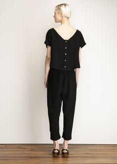 Rachel Comey New Paloma Jumpsuit (Black)