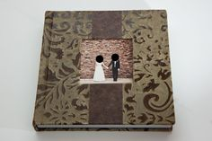 Wedding Album by Finao in Secret Garden and Bomber Jacket leathers.