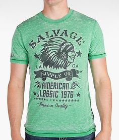 'Salvage Indian Thunder T-Shirt' #buckle #fashion www.buckle.com