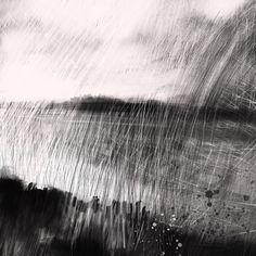 "Saatchi Online Artist: Simon Parker; Drawing, 2013, Digital ""River Walk early morning"""