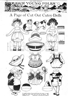 The Paper Collector: Farm Journal paper dolls, c. 1924