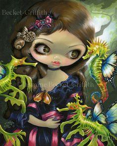 Poissons Volants Seahorse Jasmine Becket-Griffith