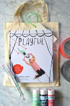 DIY Craft Kit Gift with Playful by Merrilee Liddiard @mermag