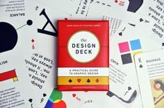 "graphicdesignblg: ""The Design Deck: Playing Cards - off for 1 week.Learn graphic design while playing poker! The Design Deck is a deck of playing cards that doubles as a practical guide to graphic. Design Thinking, Service Design, Custom Playing Cards, Web Design, Design Desk, Media Design, Print Design, Deck Of Cards, Card Deck"