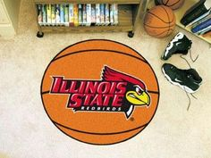 Illinois State University Basketball Rug