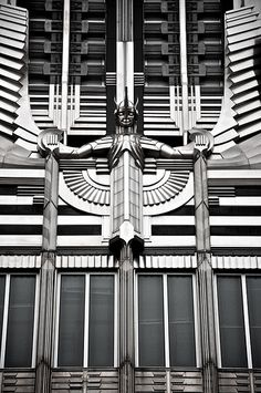 Art Deco Niagara Hudson Building, Syracuse, New York - Arte Deco Art Deco Stil, Art Deco Era, Art Nouveau, Art And Architecture, Architecture Details, Interiores Art Deco, Design Industrial, Modernisme, Streamline Moderne