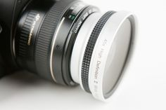Wide angle and macro lens adapter. Mine.