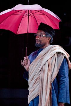 Ricky Fearon in Julius Caesar. Photo by Kwame Lestrade