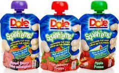 $1 Dole Fruit Squish'ems Coupon Means $.68 Pouches At Walmart!
