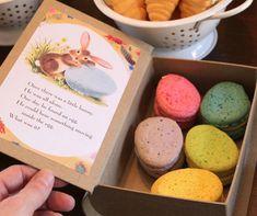 Macaron book packaging