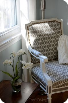A Vintage Chair Makeover