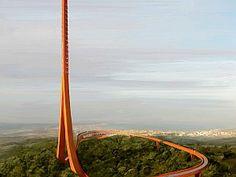 1. Ödül, Çanakkale Karasal Sayısal Yayın Kulesi Yarışması Proje Yeri: Çanakkale Proje Ofisi: Powerhouse Company, IND [Inter.National.Design]