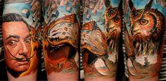 salvatore dali originals | Salvador Dali Tattoo | I LOVE Tattoos | Pinterest