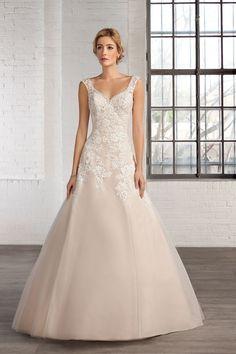 Cosmobella Style 7745: Cosmobella wedding dress 2016 collection : http://www.itakeyou.co.uk/wedding/cosmobella-wedding-dress-2016 #weddingdress #weddingdresses