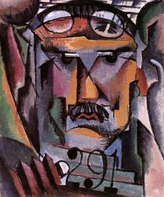 Portrait of Alfred Steiglitz - Man Ray, 1913