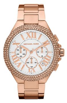 Michael Kors 'Reese' Chronograph Bracelet Watch available at #Nordstrom