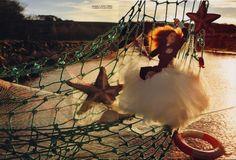 """Imaginary Fantastic Bizarre""   Model: Lily Cole, Photographer: Tim Walker, Vogue Italia, July 2005"