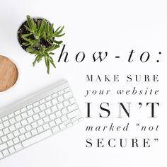 If you do not have an SSL certificate activated on your website, it will likely be marked 'Not Secure'. Here's what to do.