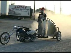 a true motorcycle chariot - YouTube