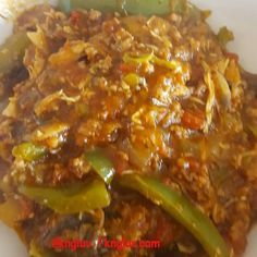 Beef mince and chicken breast with greenpeppers mushrooms onions courgette aubergine and tomato added garlic olive and rosemary all fried up in ghee #Lchf #kngluv1 @kngluv kngluv.com