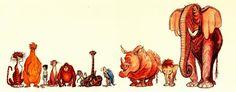 Ken Anderson's concept art for the Jungle Book.