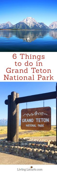 Yellowstone Grand Teton National Geographic Family Expedition - 6 Things To Do on a Family Vacation to Grand Teton National Park. These travel tips are must do activities that the whole family will enjoy!