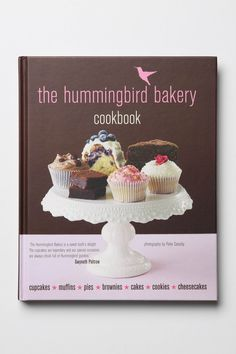 actually stumbled upon this bakery in London at the Portobello Market... The Hummingbird Bakery cookbook $27.95