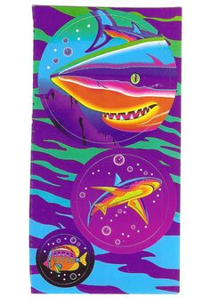 My love affair with sharks (and Lisa Frank) began early