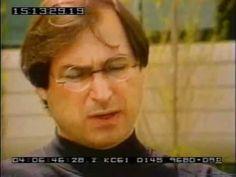 Steve Jobs talks about Paul Rand Illustration Art, Illustrations, Steve Jobs, Street Art, Interview, Graphic Design, Youtube, People, Illustration