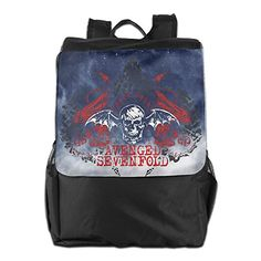 Avenged Sevenfold Student Black Military Waterproof School Adjustable Strap Backpack ** Continue with the details at the image link. #GymBags
