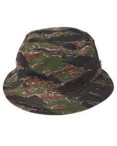 HUF - Reversible Tiger Camo Bucket Hat