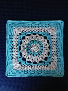 By Judy S of the Krista Group, lots of block how-tos including tips on blocking Crochet Squares Afghan, Granny Square Blanket, Granny Square Pattern Free, Granny Squares, Square Patterns, Crochet Blocks, Free Pattern, Crochet Mandala, Crochet Doilies
