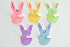 Χειροτεχνίες για παιδιά: Με αυτό το trick θα φτιάξετε τα πιο όμορφα πασχαλινά λαγουδάκια (vid) - Mothersblog.gr