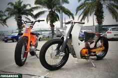 StreetCub Bitches Honda Cub C70 | Flickr - Photo Sharing!