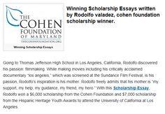 winning essays