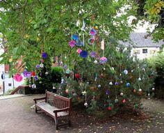 PomPoms in Baker Street Gardens, Stirling as part of the Stirling Fringe