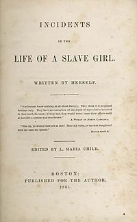 the issue of slavery in linda brents incidents in the life of a slave girl Feminism and slavery: harriet jacobs' incidents in the life of a slave girl  of all of the women that jacobs' autobiographical character linda brent meets,.