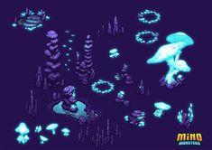 MinoMonsters Cave Assets by hellcorpceo.deviantart.com on @deviantART
