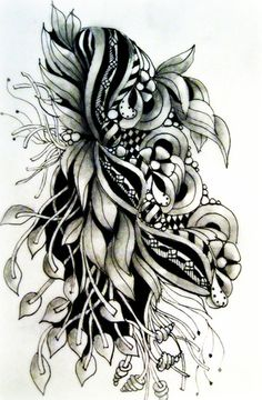 LeeAnn's blog has beautiful work both in color and black and white with shading