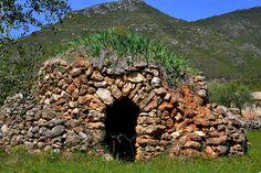 Barraca de Pedra seca, Les Planes , Torrelles de Foix.