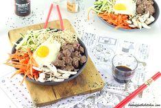 Bibimbap au Boeuf - Corée du Sud - Brian Iz In The Kitchen