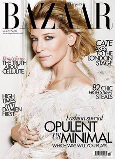 Cate Blanchett for Harper's Bazaar UK April 2012