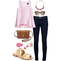 Road trip time! by thepinkcatapillar on Polyvore featuring polyvore, fashion, style, Cynthia Rowley, J Brand, Jack Rogers, Tory Burch, J.Crew, Kate Spade, Prada, Essie and Eos